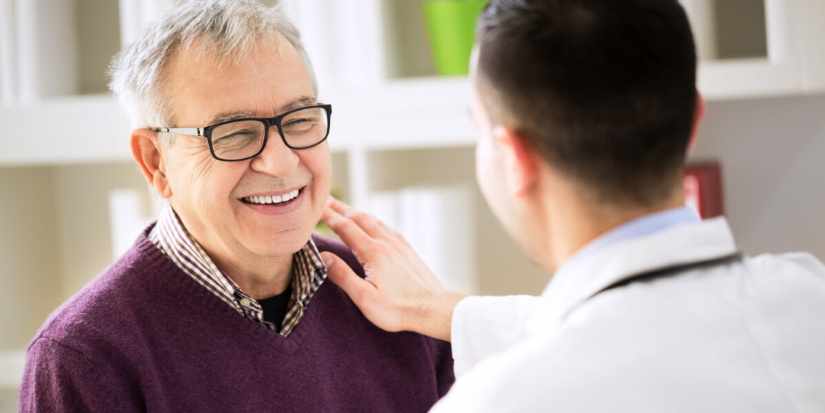 Happy patient because doctor followed tips for improving patient satisfaction | Vanguard Communications | Denver, CO