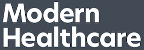 Modern Healthcare Logo | Vanguard Communications | Denver, CO