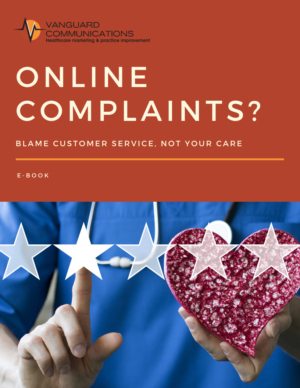 Cover of e-book Online Complaints? Blame Customer Service, Not your Care