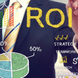 Healthcare Marketing ROI | Vanguard Communications | Determining ROI for Marketing square