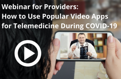 Telemedicine virtual visit webinar | Vanguard Communications | Denver, CO | San Jose, CA