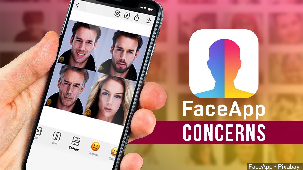 FaceApp Concerns graphic | Vanguard Communications | Denver, CO