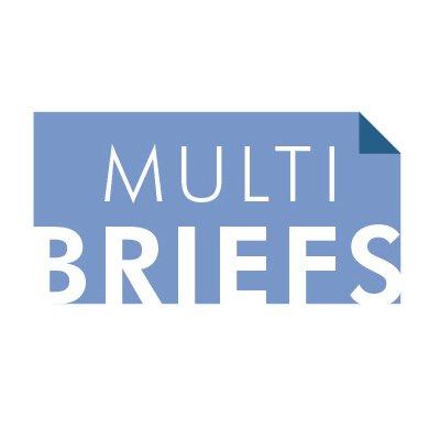 MultiBrief's logo for a story on doctor communication | Vanguard Communications | Denver
