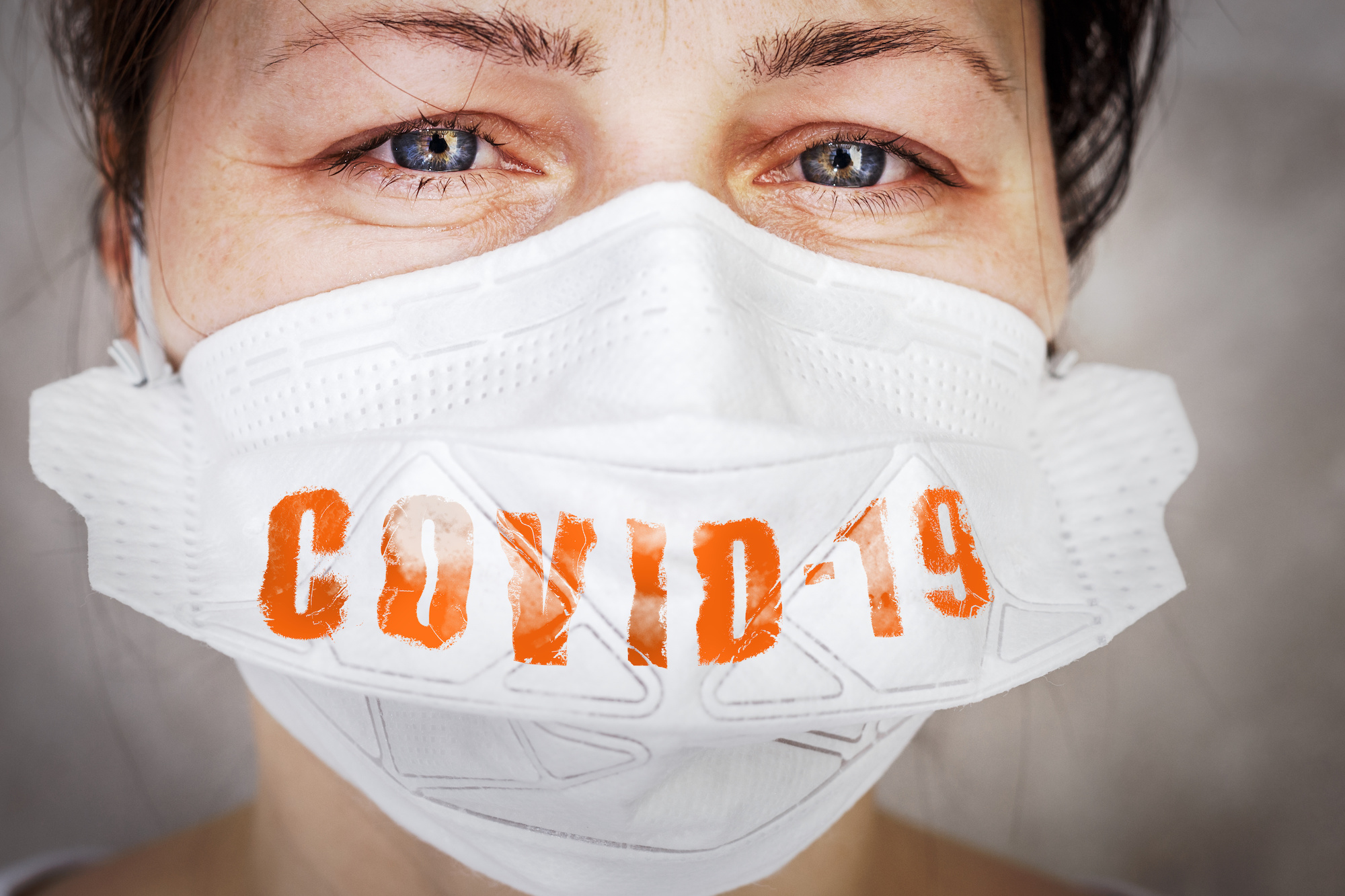 Woman wearing mask helps prevent COVID-19 deaths in US | Vanguard Communications | Denver, CO | San Jose, CA