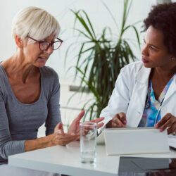 Urogyncecology consult with female patient | Vanguard Communications | Denver, CO | San Jose, CA
