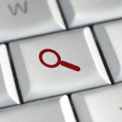 Medical blog keywords | Vanguard Communications | Keyboard with search button