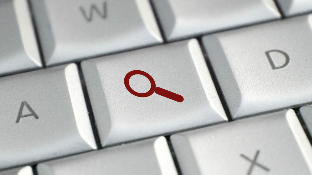 Medical blog keywords   Vanguard Communications   Keyboard with search button