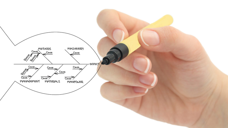 Fishbone Problem Solving Diagram | Vanguard Communications Group | MedAmorphosis Process Improvement | Denver. CO